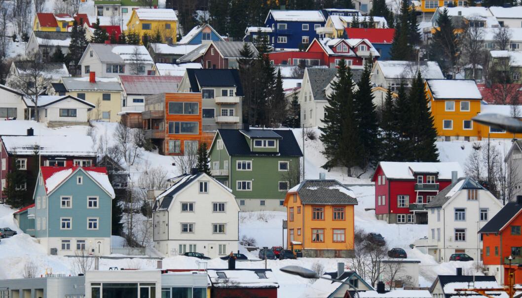 I Norge kan det være høye konsentrasjoner av den radioaktive gassen radon innendørs.  Det skyldes flere ting. Blant annet måten vi bygger boligene våre på.(Illustrasjonsfoto: VojtechVlk / Shutterstock / NTB scanpix)