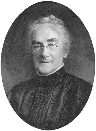 Ellen Swallow Richards var kjemiker og bidro til oppdagelsen av grunnstoffene samarium og daolinium. (Foto fra: The Life of Ellen H. Richards av Caroline L. Hunt / Wikimedia commons)