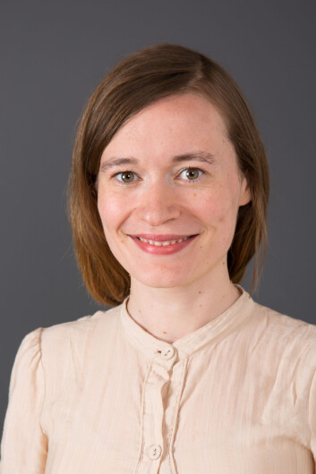 Sara Cools ved Institutt for samfunnsforskning. (Foto: ISF)