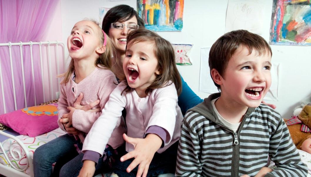 Hvor mange søsken du selv hadde, påvirker hvor mange barn du velger å få, viser ny forskning fra Institutt for samfunnsforskning. (Foto: Shutterstock / NTB scanpix)