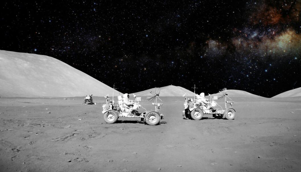 Moon Express har visstnok samlet inn nok penger til å sende en sonde til månen i løpet av året. Spørsmålet er om romraketten blir klar.  (Illustrasjonsfoto: Castleski / Shutterstock / NTB scanpix)