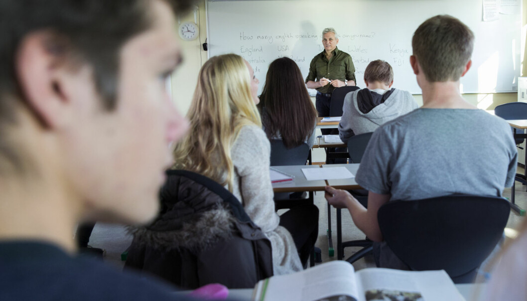 Har du for eksempel problemer med presensformen på nynorsk? Da kan din egen dialekt være en god hjelp, ifølge språkprofessor. (Foto: Berit Roald / NTB scanpix)