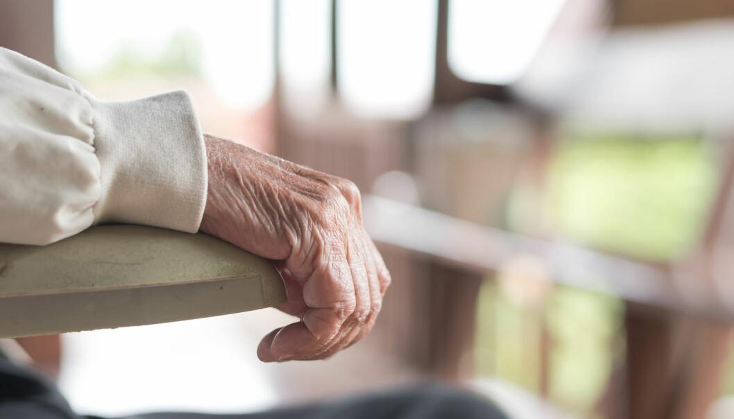 Forskere har undersøkt hjernevev fra ti parkinson-pasienter og sammenlignet det med vev fra friske mennesker. Da så de at cellene hos parkinson-pasientene manglet viktig beskyttelse mot aldringsrelaterte skader.  (Illustrasjonsfoto: Chinnapong / Shutterstock / NTB scanpix)
