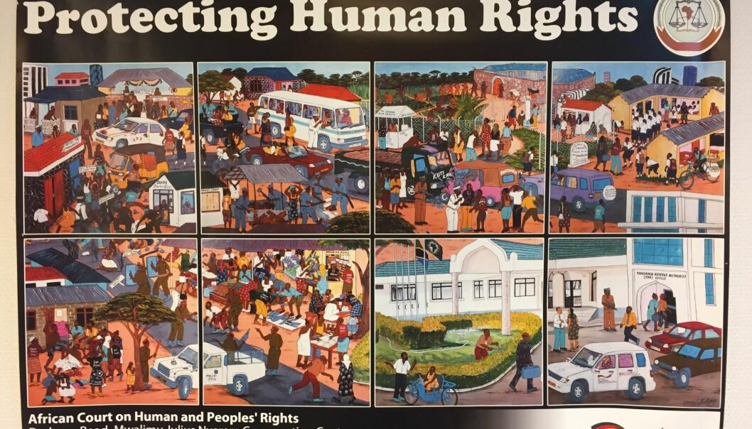Da en av dommerne ved Den afrikanske menneskerettighetsdomstolen aktivt forsøkte å beskytte menneskerettigheter, fikk han ikke sitte i en ny periode.  (Foto: UiO)
