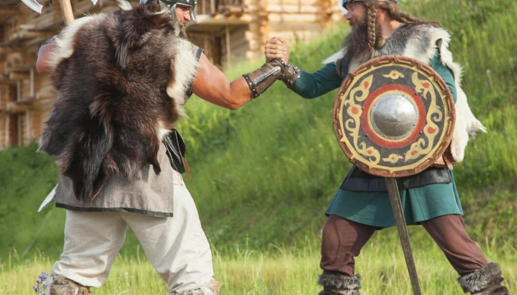 Ekspertene er ikke helt enige i hvem som var barskest av de norske og de danske vikingene. (Foto: Khosrork, Microstock)