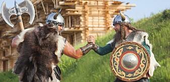Hvem var tøffest av de danske og de norske vikingene?