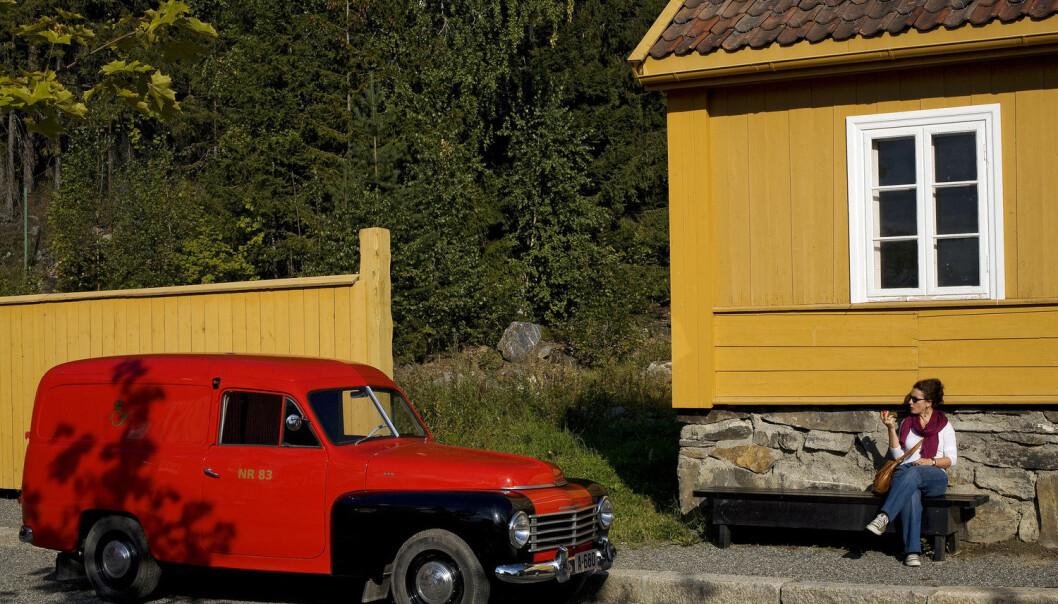 De første friluftsmuseene ble etablert rundt 1900. De var nasjonalromantiske og formidlet kulturarven med hus og hjem fra middelalderen frem til datiden. Et av de første friluftsmuseene var Maihaugen på Lillehammer.  (Foto: Shutterstock / NTB scanpix)