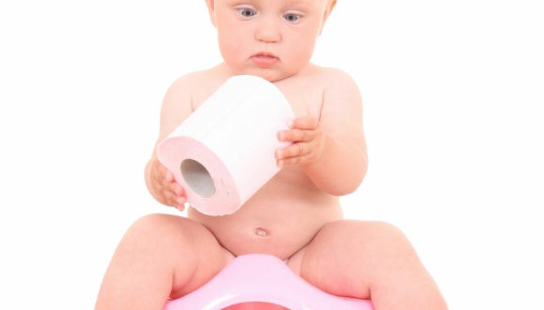Man skal absolutt ikke ha straff som reaksjonsmåte dersom barnet for eksempel skulle tisse på seg. (Illustrasjonsfoto: iStockphoto)