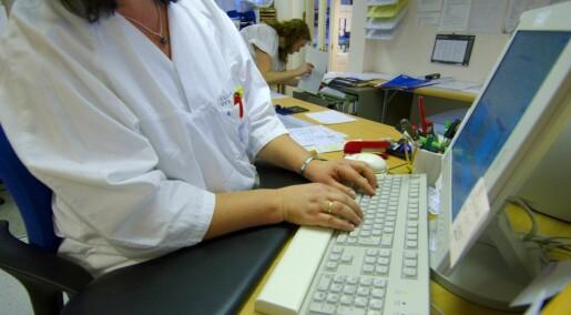 Forskere vil se i sykejournalene våre for å finne svindlere