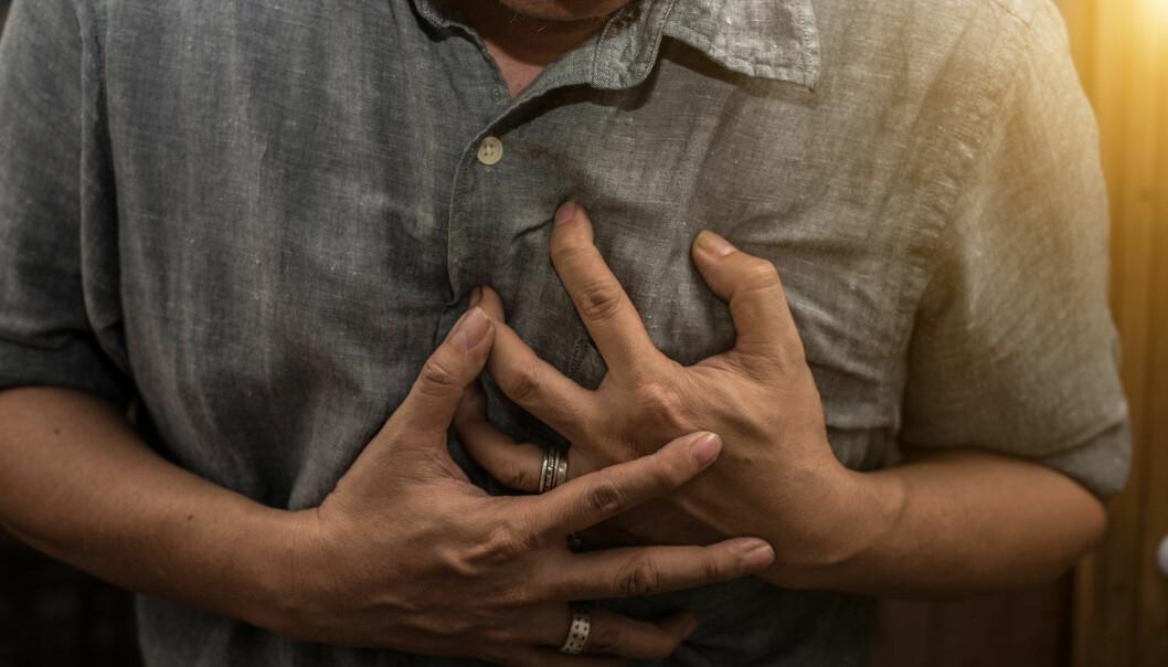 Hjertesykdom er den vanligste dødsårsaken. Forskning viser at depresjon og hjertesykdom henger sammen.  (Foto: nhungboon / Shutterstock / NTB scanpix)