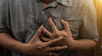 Deprimerte får oftere hjertesykdom