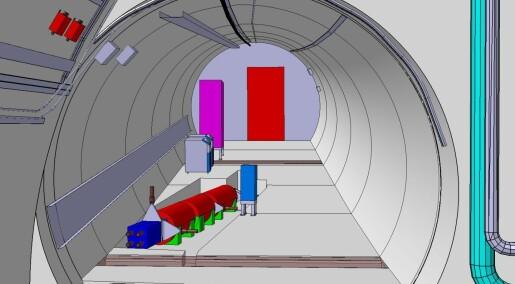 Ny CERN-detektor skal lete etter mørk materie