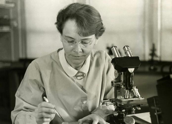 Barbara McClintock (Foto: Smithsonian Institution/Science Service; Restaurert av Adam Cuerden)