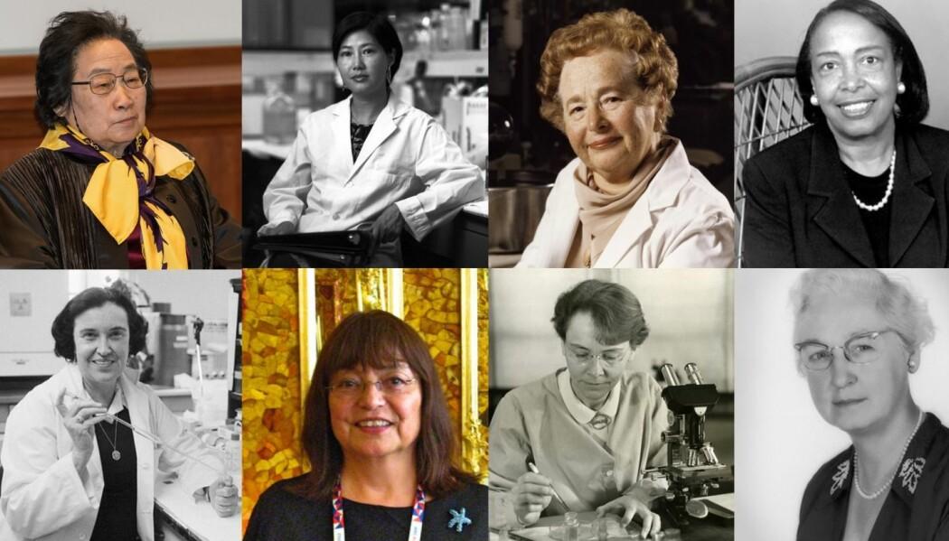 − Jeg håper denne listen kan inspirere andre, i tillegg til å sette søkelys på barrierer kvinnelige forskere fortsatt kan møte, skriver bloggforfatter Sukhjeet Bains. (Foto: Wikimedia commons, se detaljer under bildene i artikkelen)