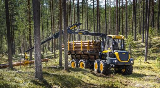 Mer skånsomt med beltegående skogsmaskiner