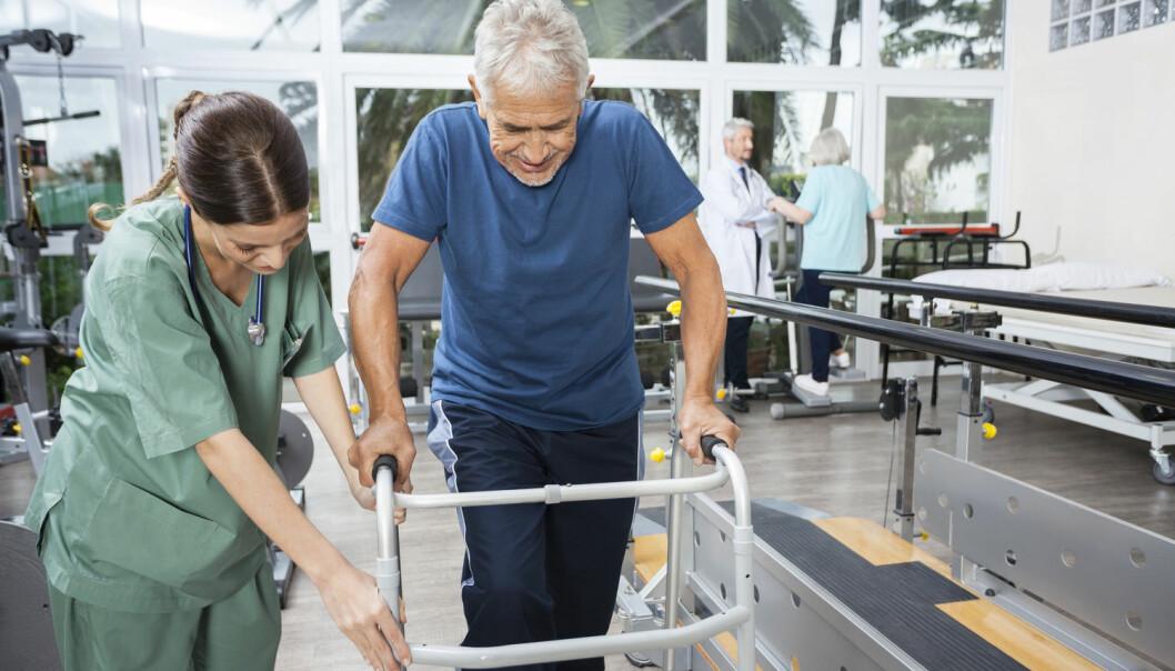 Gjenopptreningen etter blodpropp eller hjerneblødning virker bedre hvis pasientene også får en svak strøm til hjernen, viser en ny dansk studie. (Foto: Tyler Olson / Shutterstock / NTB scanpix)