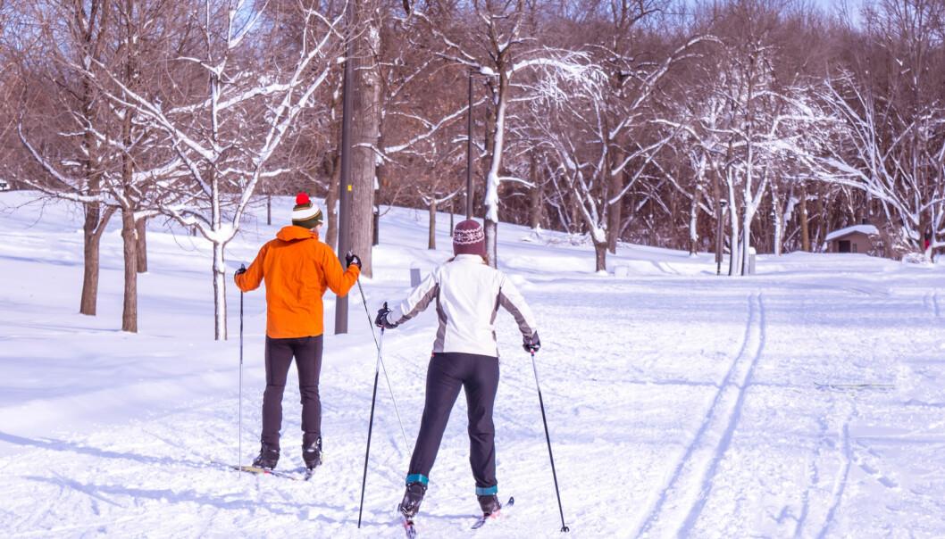 Smarte og miljøvennlige måter å produsere kunstsnø på, skal sikre både skileik og skisport i framtida. (Foto: Shutterstock / NTB scanpix)