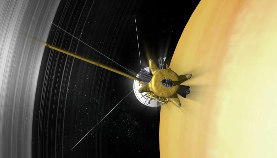Siste signaler fra Saturn