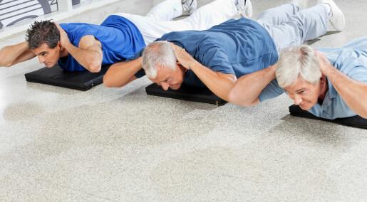 Eldre med demens trenger trening