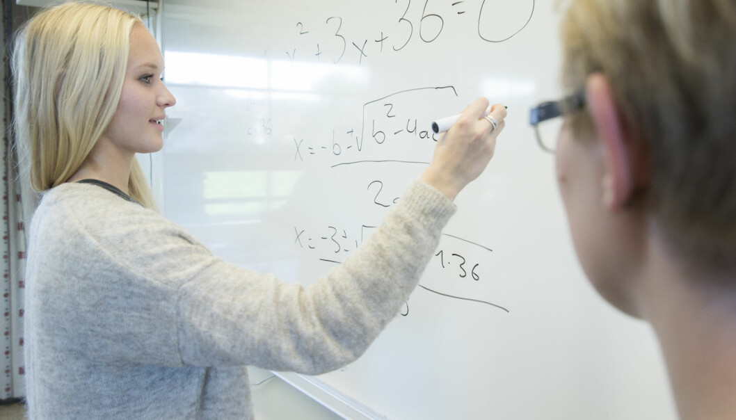 I denne episoden av Viten + snakkis ertemaet matematikkensstatus i samfunnet, matte i skolen og ikke minst matematikk i hverdagen. (Foto: Berit Roald / NTB scanpix)