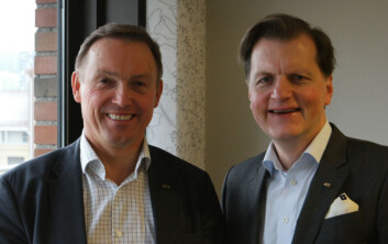Steinar Sørlie (t.v) og Jan Johnsrud. (Foto: Arnfinn Christensen, forskning.no)