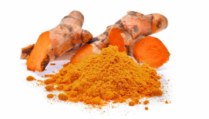 Stoff i gurkemeie har trolig liten effekt på helsa
