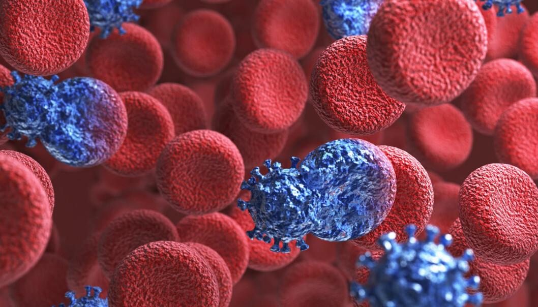 Forskere har oppdaget at kreftceller kan stjele energi fra friske naboceller. (Illustrasjonsfoto: Colourbox)
