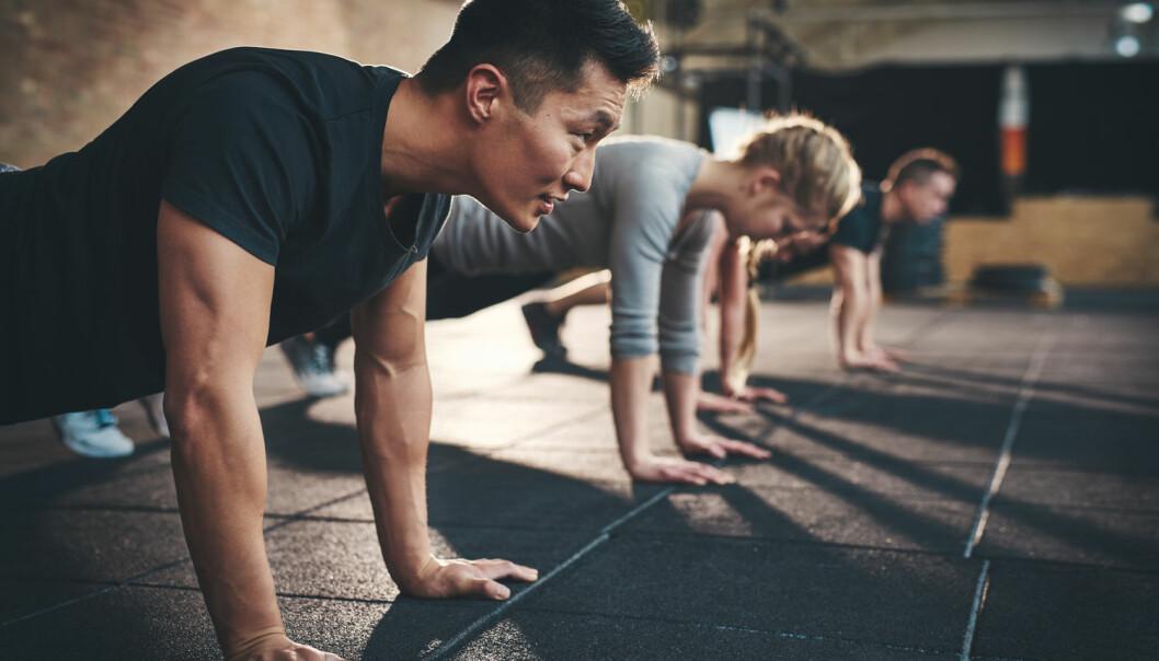 Du kan kanskje nøye seg med å trene bare en gang i uken og fortsatt oppnå de helsemessige gevinstene, viser ny forskning. (Foto: Shutterstock, NTB scanpix)