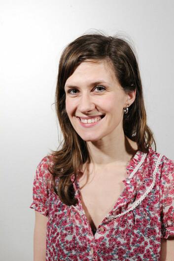 Forsker Ingeborg Grønning. (Foto: NTNU / Flickr)