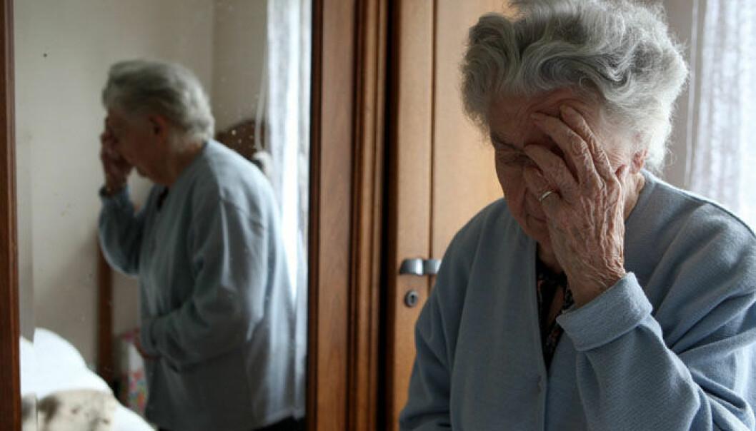 Man vet ennå ikke nøyaktig hva som er årsaken til Alzheimers sykdom. (Foto: Colourbox)