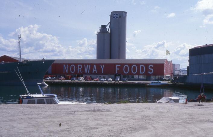 Norway Foods sitt lager Foto: MUST/ Norsk hermetikkmuseum