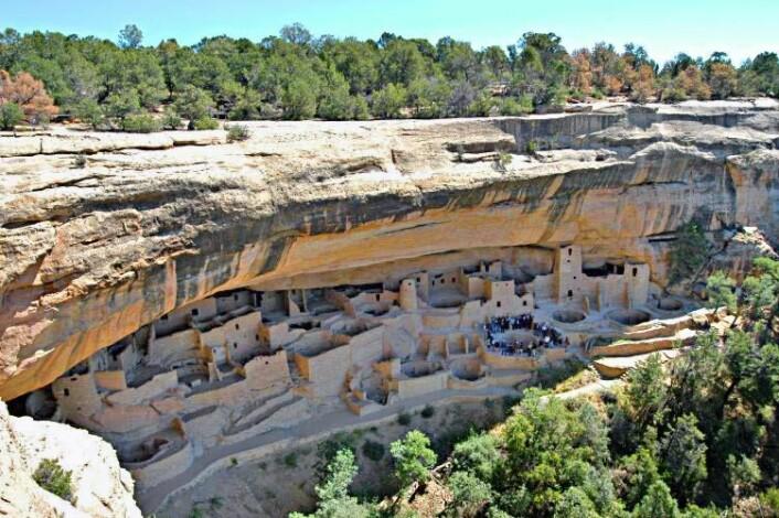 "En annen berømt pueblo i Colorado, kalt klippepalasset i Mesa Verde. (Foto: Lorax/<a href=""https://creativecommons.org/licenses/by-sa/3.0/"">CC BY-SA 3.0</a>)"