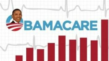 USA peker seg ut som annerledes i denne studien av helsetjenestene i 11 vestlige land. USA bruker mest penger på helse per innbygger, har de minst fornøyde brukerne av helsevesenet og de sykeste innbyggerne. Forskerne ser at helsereformen kalt Obamacare de siste årene har brakt i USAs helsevesen i riktig retning. Donald Trump har lovt å avskaffe Obamacare. (Foto: (Illustrasjon: Obamacare-gov.com ))