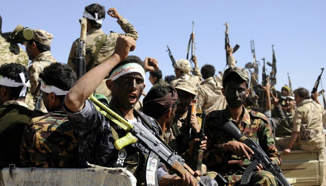 Verden trenger humanistisk tenkning for å forstå og håndtere globale utfordringer som ekstremisme, fundamentalisme, krig og konflikt. Her Houthi-opprørere i Jemen. (Foto: Yahya Arhab, Epa, NTB scanpix)