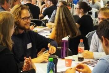 På folkemøtet for ESA hos Norsk Romsenter 10. september 2016 sa mer enn 60 rominteresserte hva de synes fremtidens utforsking av rommet bør satse på. (Foto: Norsk Romsenter)