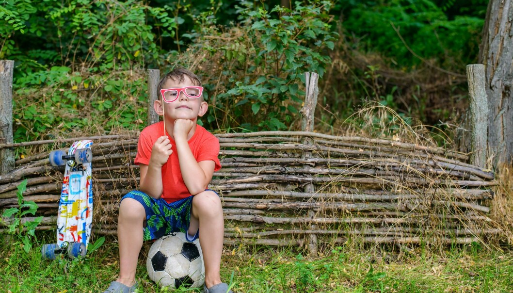 Å være original som barn kan gi barnet fordeler i voksenlivet. (Foto: Colourbox)