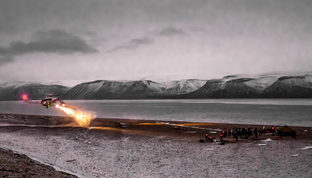 Skal gjøre det tryggere å ferdes i Arktis
