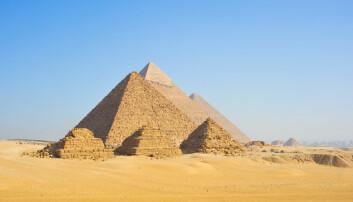 Middelalderkonger bygde byer og borger av stein fra pyramidene
