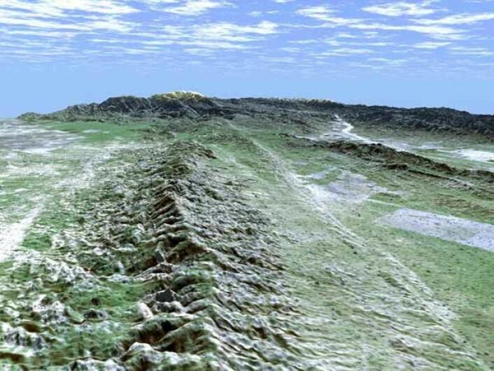 Gjennom tidene har flere større jordskjelv blitt utløst i den kjente San Andreas-forkastningen sørøst for Los Angeles. (Foto: NASA/Wikimedia commons)