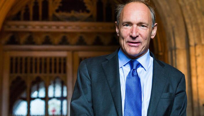Tim Berners-Lee er mannen bak World Wide Web. (Foto: Paul Clarke / Wikimedia commons CC BY-SA 4.0)