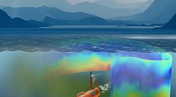 Smart undervannsrobot leter etter plankton