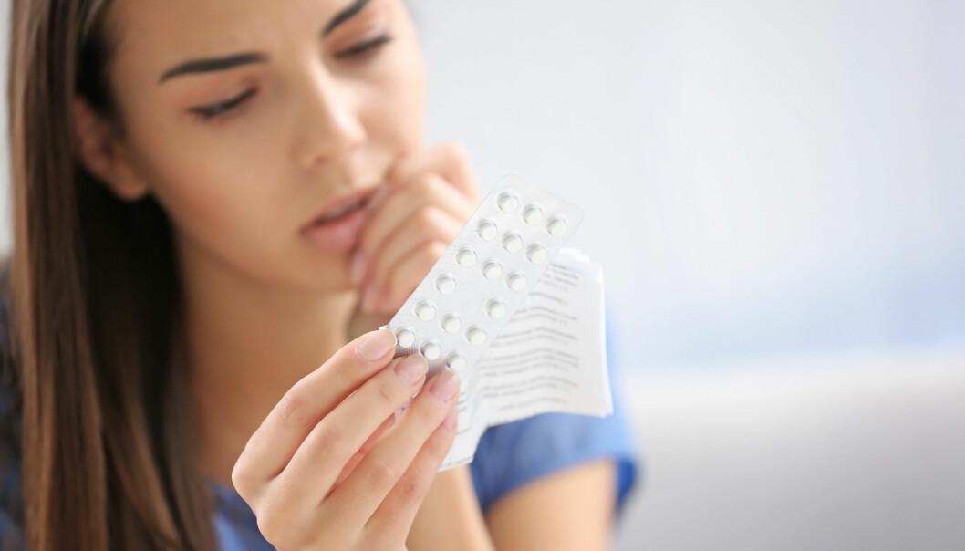 P-piller ser ut til å påvirke kvinners evne til å lese andres følelser. (Foto: Shutterstock)