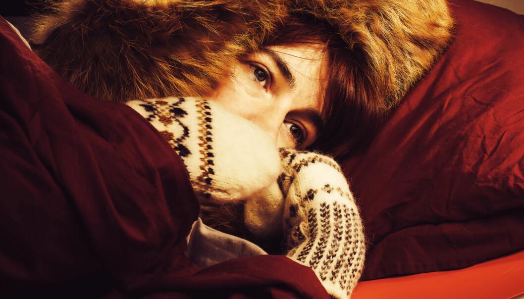 Følelsen av å fryse rammer oss forskjellig, men man kan faktisk venne seg til kulde. (Illustrasjonsfoto: Vlad Ozerov / Shutterstock / NTB scanpix)