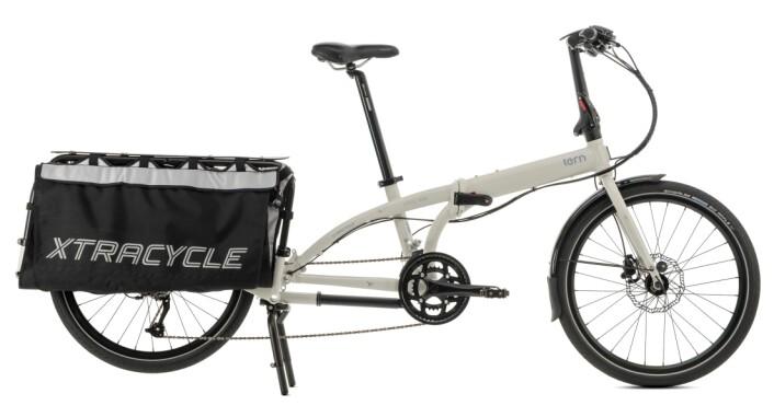 Long tail-syklene gir plass til ekstra last. Denne sykkelen fra Tern er en av flere merker på markedet i dag. (Foto: Tern)
