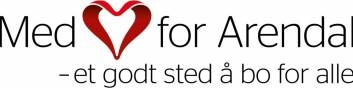 Med hjerte for Arendal  er samarbeid mellom kommunen, KS Agder og de fem frivillige organisasjonene Frelsesarmeen, Røde Kors, Blå Kors, Kirkens Bymisjon og Nasjonalforeningen for folkehelsen. Nå deltar nærmere 100 ulike lag, foreninger og menigheter, samt engasjerte enkeltindivider.