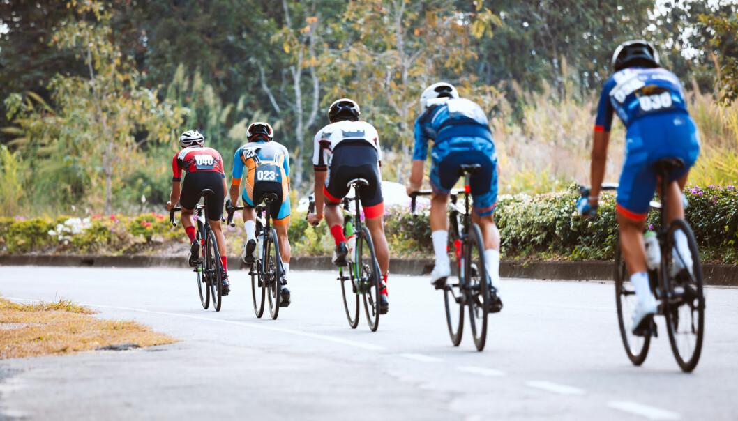 Over halvparten av elitesyklistene i studien hadde svakere skjelett enn det som er gjennomsnittlig. Dermed er de mer utsatt for langvarige skader. (Illustrasjonsfoto: PPstock / Shutterstock / NTB scanpix)