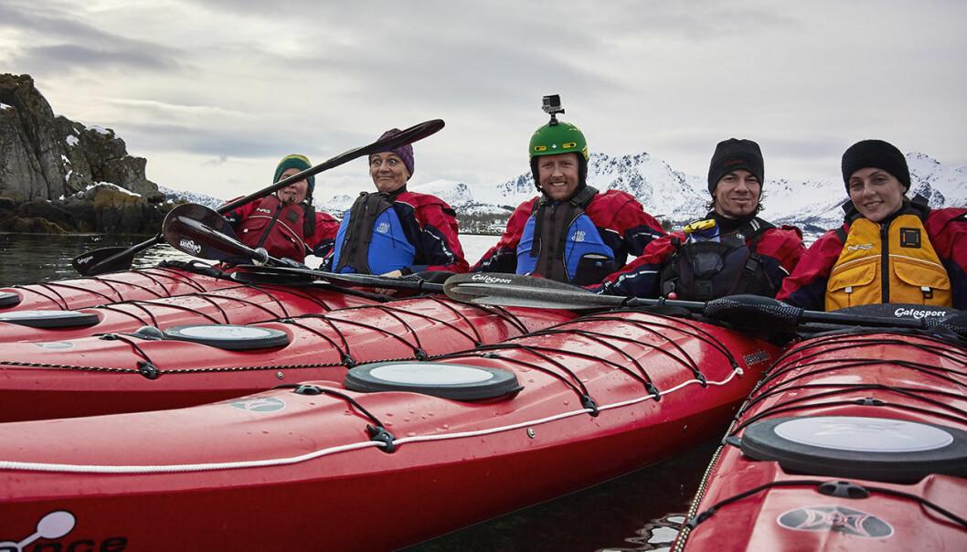Opplevelsesbasert reiseliv: Turer med havkajakk er et av flere populære reiselivsprodukt som kan bli testet for kvalitet. (Foto: Ian Robins)