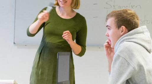 Hva gjør læreren når elevene krangler om religion?