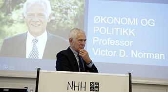 Victor Norman gir seg etter 40 år på Handelshøyskolen