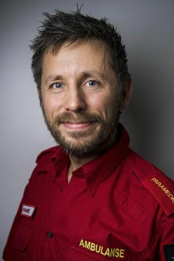 Høgskolelektor Carl Robert Christiansen ved HiOA. (Foto: Benjamin A. Ward/ HiOA)